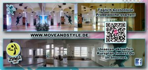 Move & Style Dance Academy Flyer