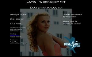 Katja Kalugina @ Move & Style Dance Academy