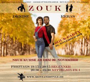 ZOUK @ Move & Style Dance Academy